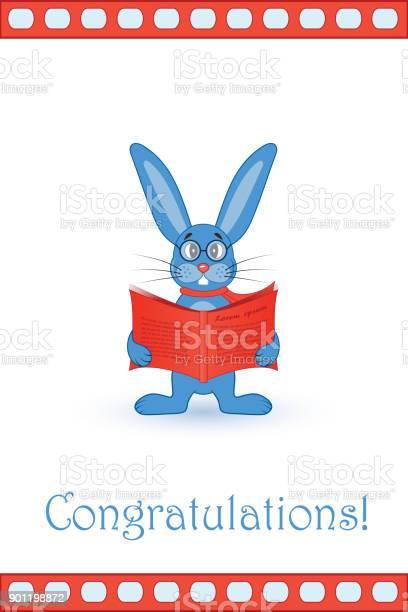 Greeting card blue rabbit with a red book vector id901198872?b=1&k=6&m=901198872&s=612x612&h=3j6kq1vrqxotphsctscu6ockdfubowa6wsvfe8vbcl8=