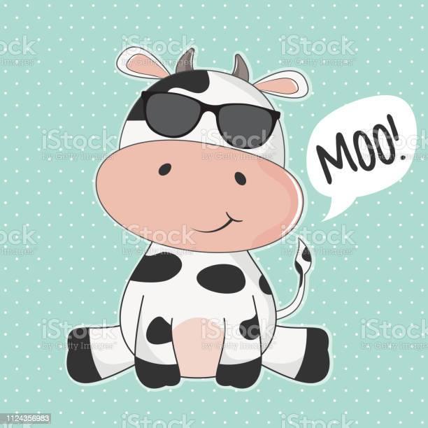 Greeting card cute cow with sunglasses and inscription moo vector id1124356983?b=1&k=6&m=1124356983&s=612x612&h=scwym2nhxgqx5jazsola0bxcnnssh78y2tfzzdmxx5g=