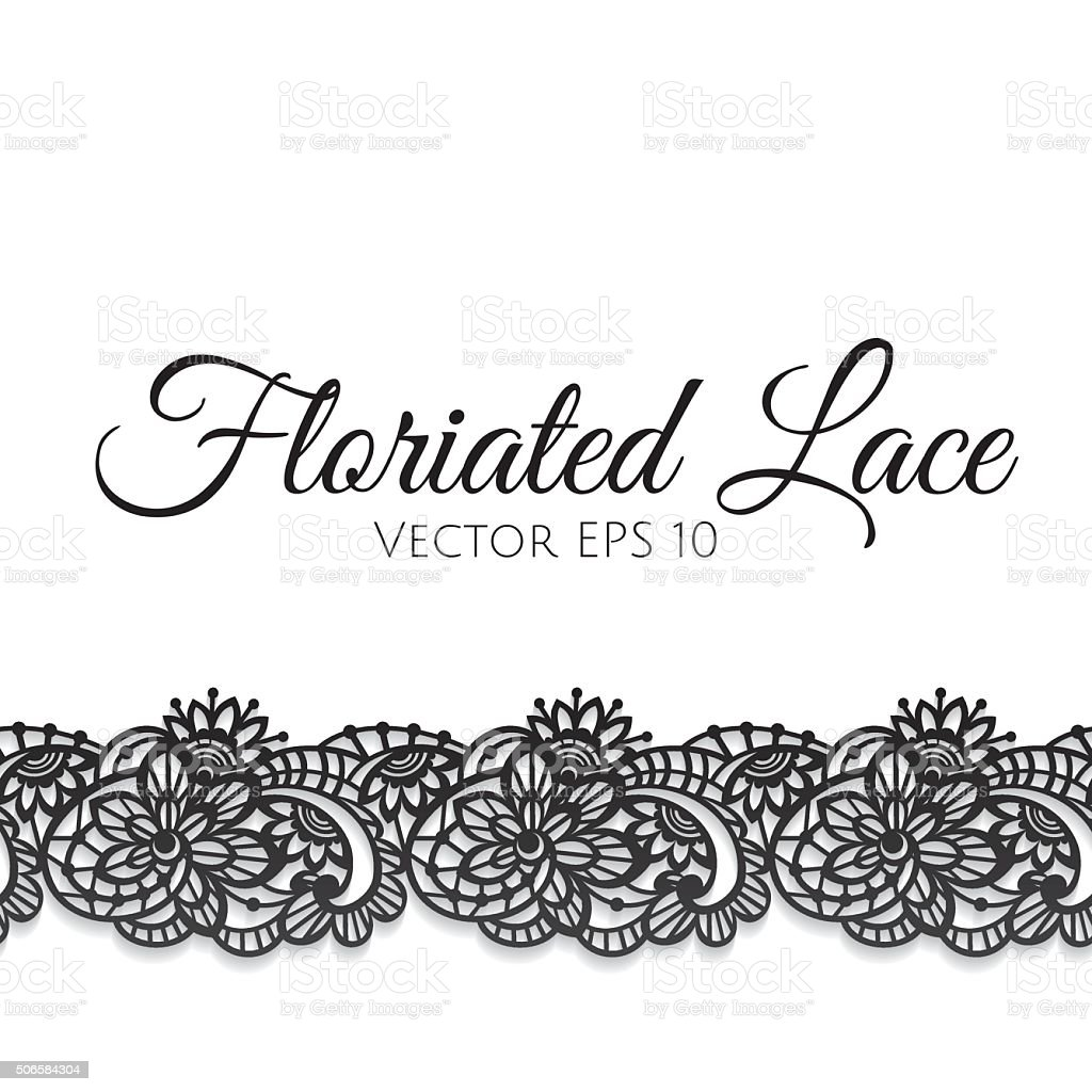 Greeting card decorated with floral lace stock vector art more greeting card decorated with floral lace royalty free greeting card decorated with floral lace stock kristyandbryce Gallery