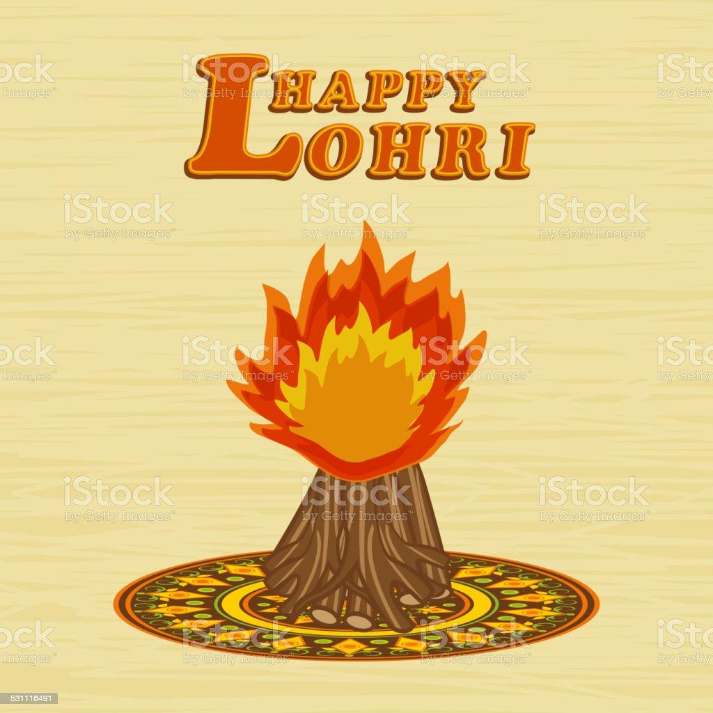 Greeting card design for punjabi festival happy lohri celebrati greeting card design for punjabi festival happy lohri celebrati royalty free greeting card design m4hsunfo