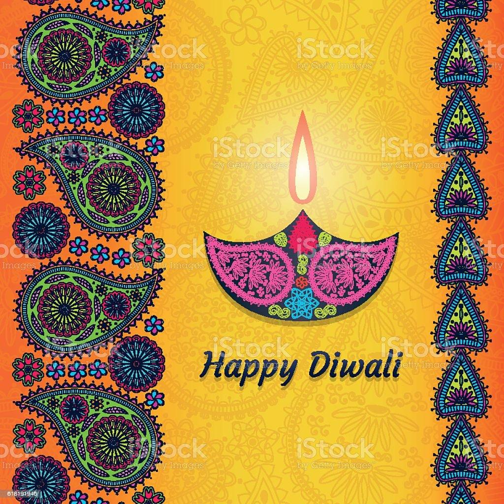 Greeting card for diwali festival celebration in india stock greeting card for diwali festival celebration in india royalty free greeting card for diwali festival kristyandbryce Image collections