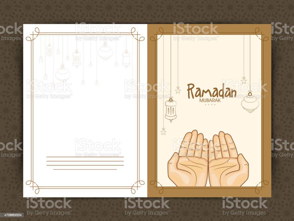 Greeting card for ramadan kareem celebration stock vector art greeting card for ramadan kareem celebration royalty free greeting card for ramadan kareem celebration kristyandbryce Images