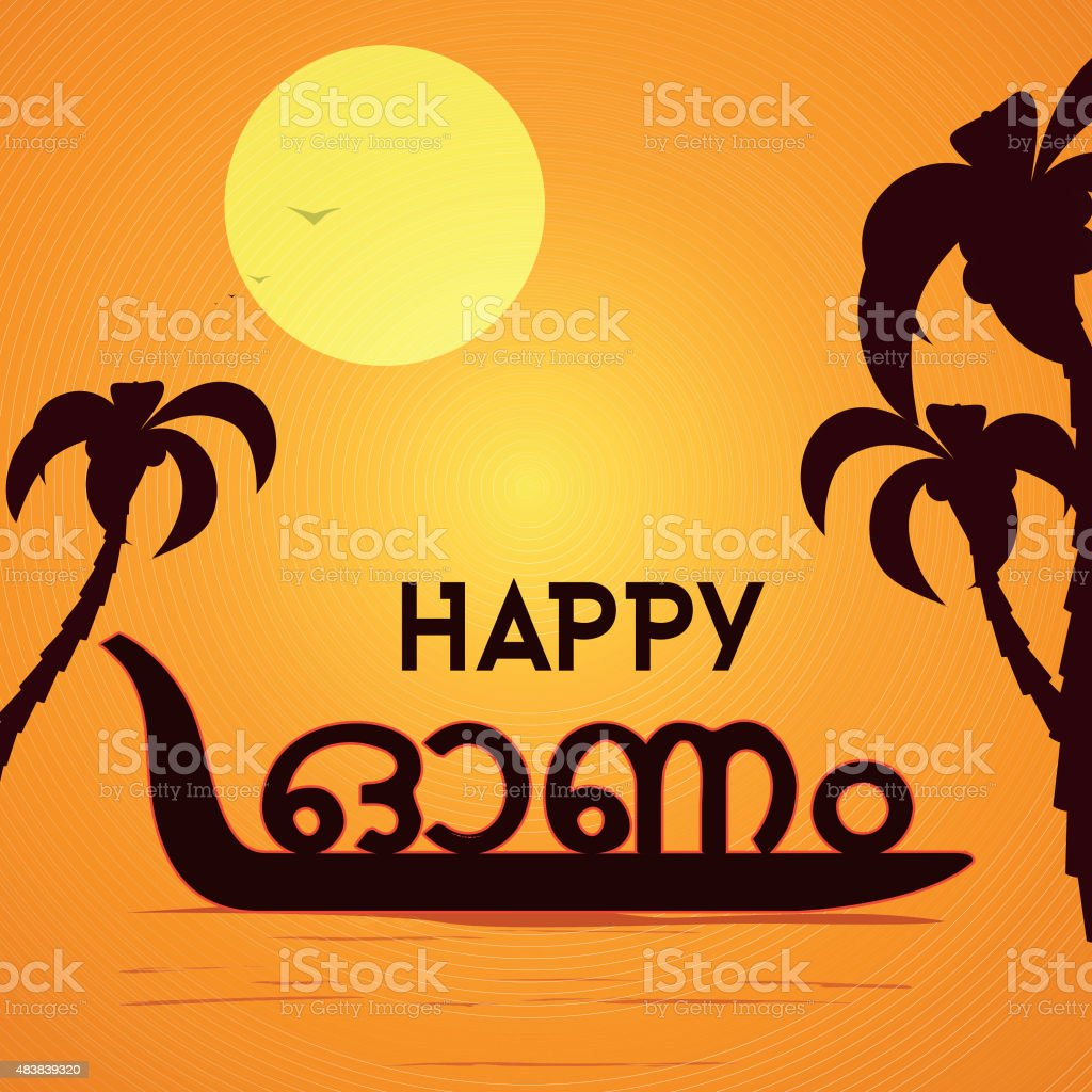Greeting Card For South Indian Festival Onam Stock Vector Art More