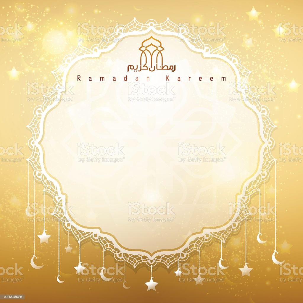 Greeting card gold background for islamic celebration ramadan kareem greeting card gold background for islamic celebration ramadan kareem royalty free greeting card gold background kristyandbryce Image collections