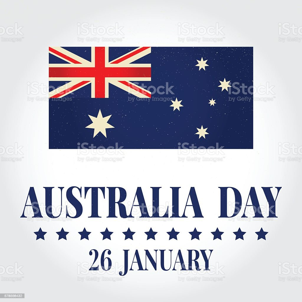 Greeting card happy australia day stock vector art more images of greeting card happy australia day royalty free greeting card happy australia day stock vector m4hsunfo