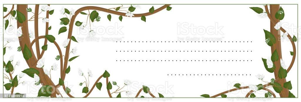 Ilustración De Tarjeta De Felicitación Invitación Saludo De