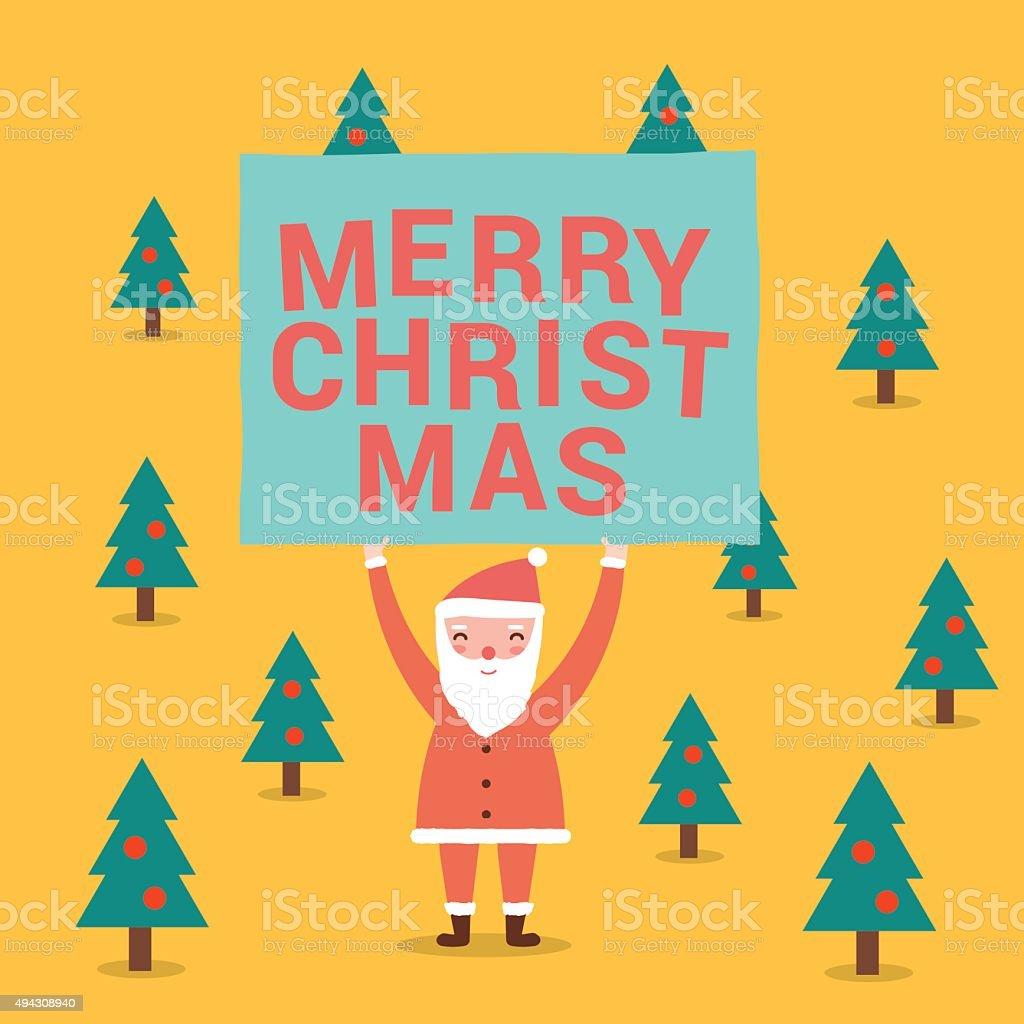 Greeting card santa claus characters flat design christmas vec stock greeting card santa claus characters flat design christmas vec royalty free greeting card kristyandbryce Gallery