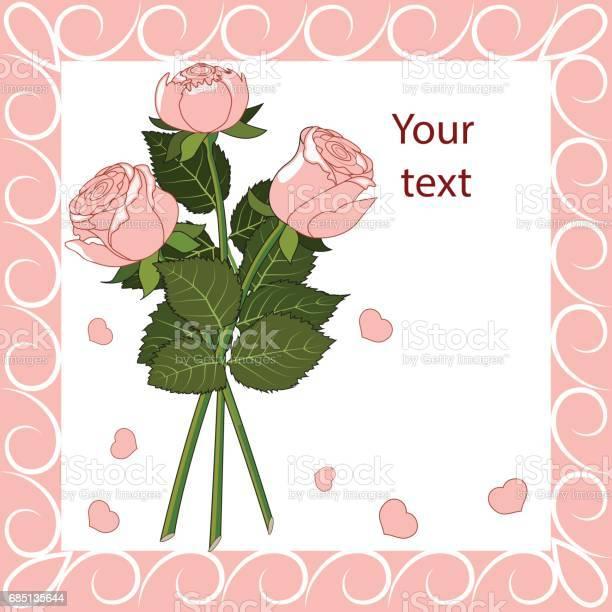 Greeting card three pink roses vector id685135644?b=1&k=6&m=685135644&s=612x612&h=dvxpgez1r xh90 6rexdhjhtqeaqawvj pdrqhmuzki=