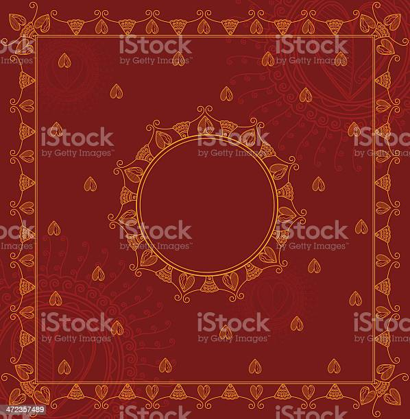 Indian Wedding Card Background Free Vector Art 383 Free