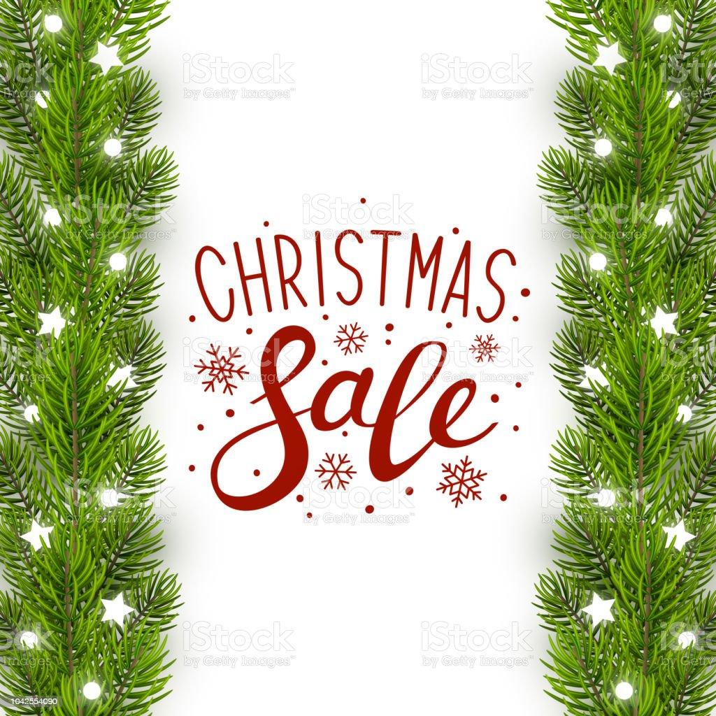 Greeting card with christmas tree border stock vector art more greeting card with christmas tree border royalty free greeting card with christmas tree border stock m4hsunfo