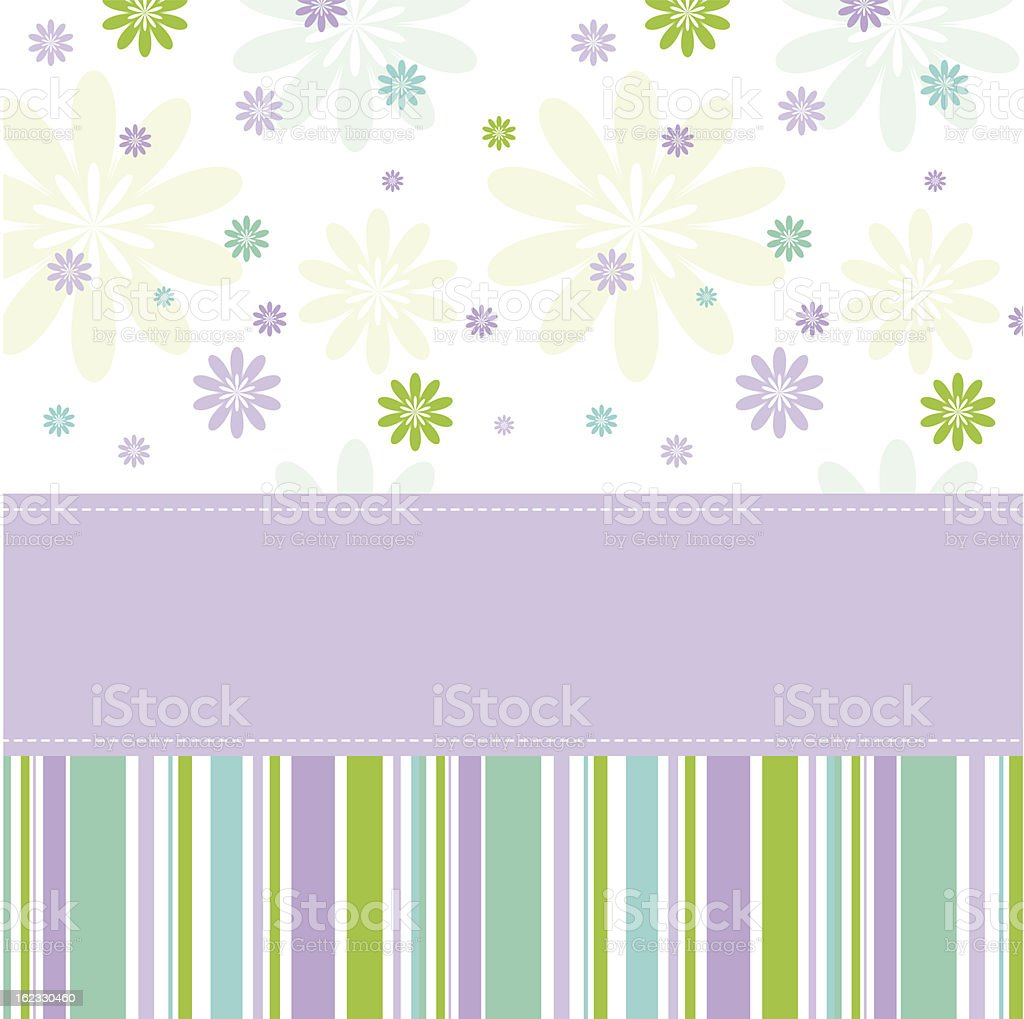 Greeting card with copy space royalty-free greeting card with copy space stock vector art & more images of baby shower