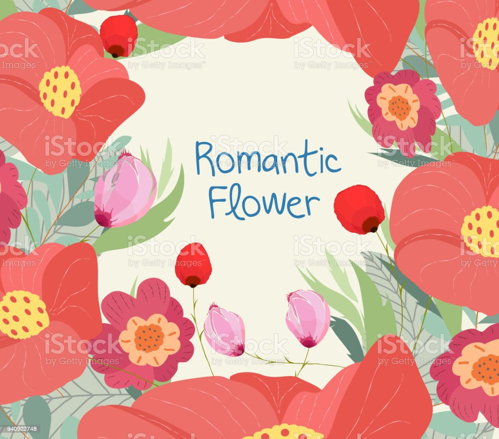 Greeting card with flower can be used as invitation card for wedding greeting card with flower can be used as invitation card for wedding birthday and izmirmasajfo