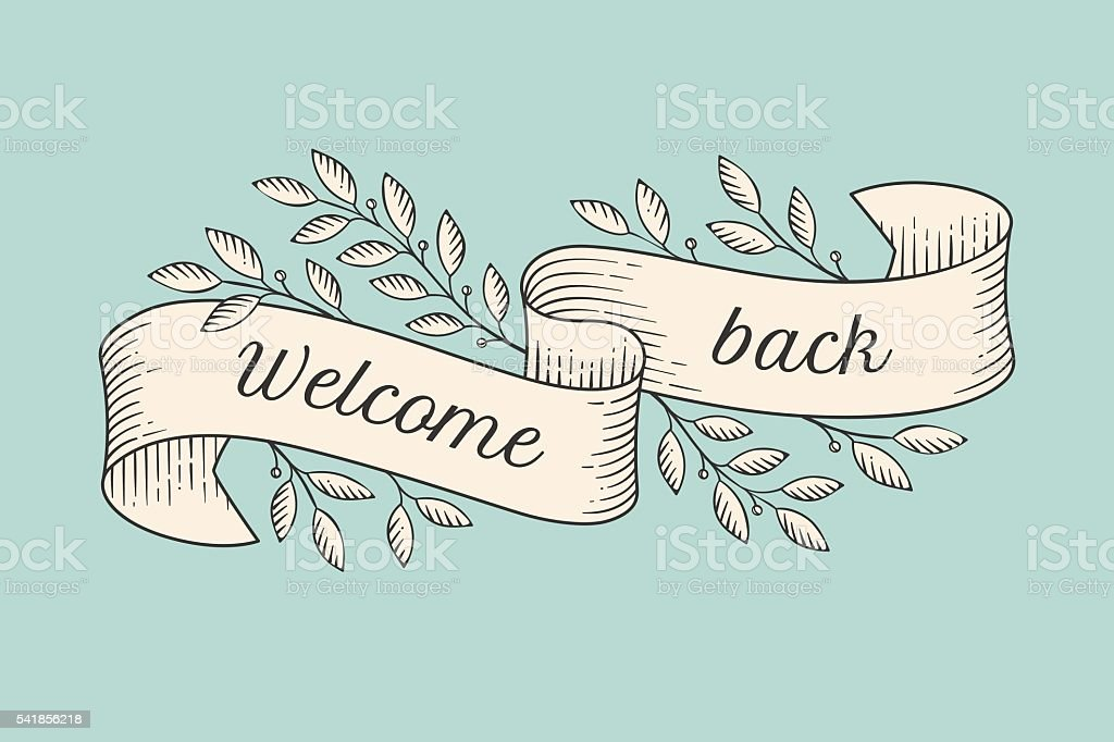 welcome back signs