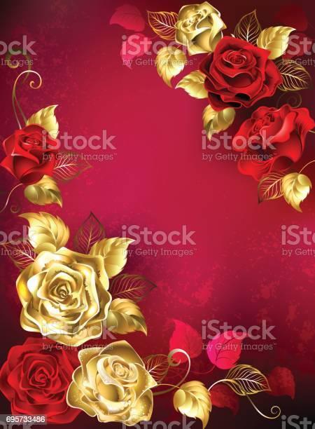Greeting card with red jewelry roses vector id695733486?b=1&k=6&m=695733486&s=612x612&h=gryxxezj1grwwz945lurflc91n3w nkbax6esnsh2nc=