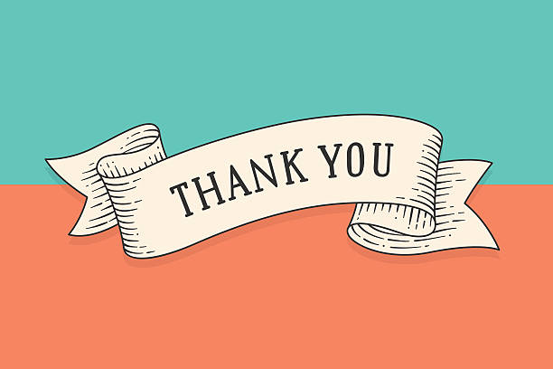 Royalty Free Thank You Sign Clip Art, Vector Images ...