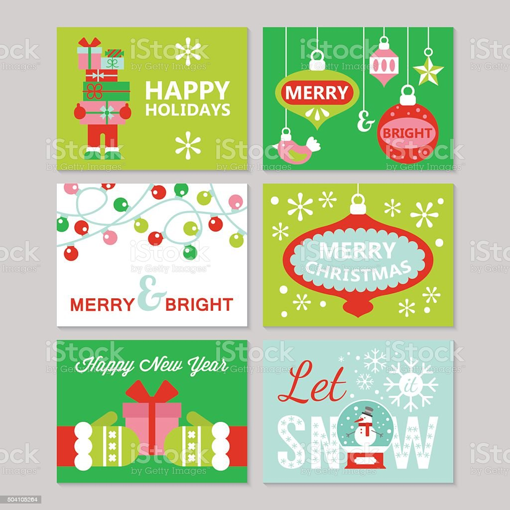 Auguri Di Natale 105.Design Biglietti Dauguri Di Buon Natale E Nuovo Anno Vacanze