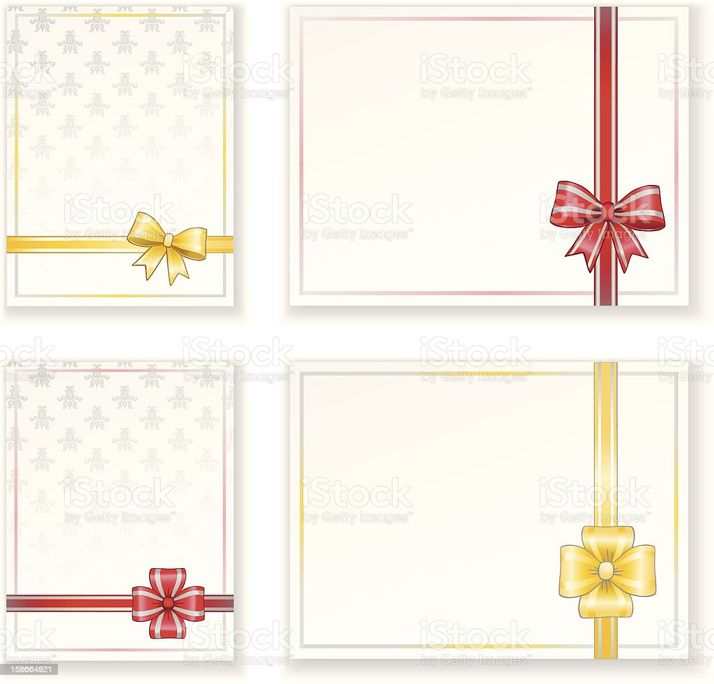 Greeting cards royalty-free stock vector art