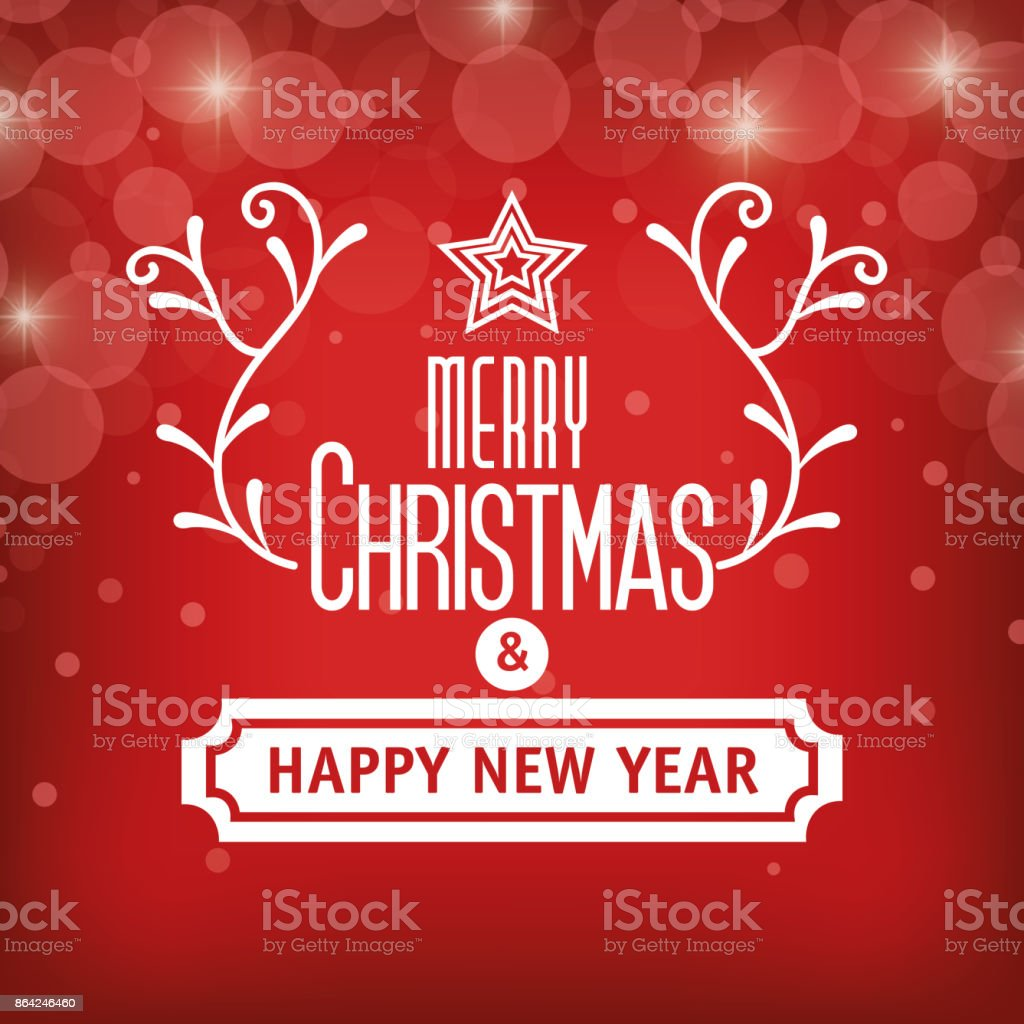 greeting christmas and happy new year graphic royalty-free greeting christmas and happy new year graphic stock vector art & more images of abstract