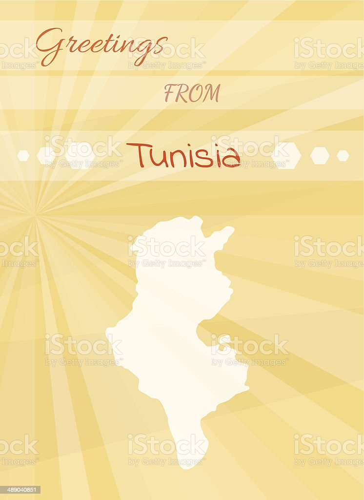 Greetings from tunisia stock vector art more images of africa greetings from tunisia royalty free greetings from tunisia stock vector art amp more images m4hsunfo