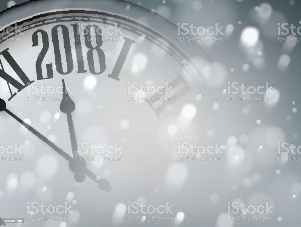 grey 2018 new year background royalty free grey 2018 new year background stock vector