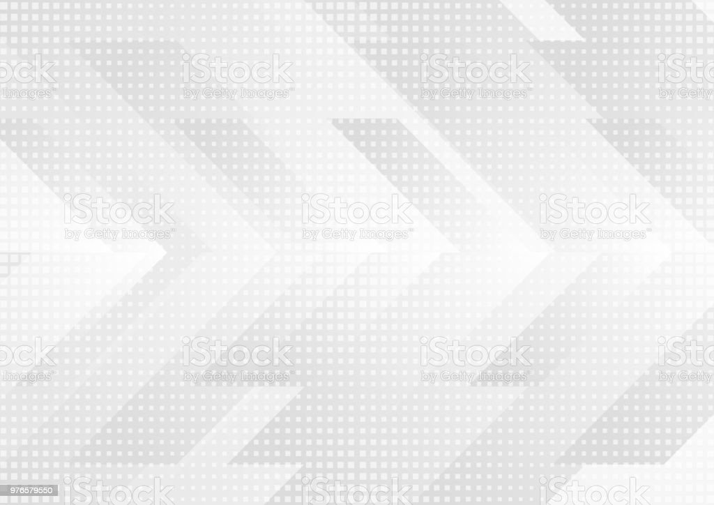 Grey and white tech arrows abstract background векторная иллюстрация