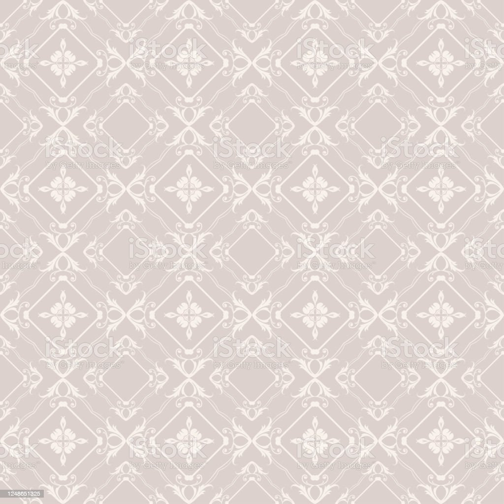 Grey Background Wallpaper Texture Seamless Pattern Vector Image Stock  Illustration - Download Image Now - iStock