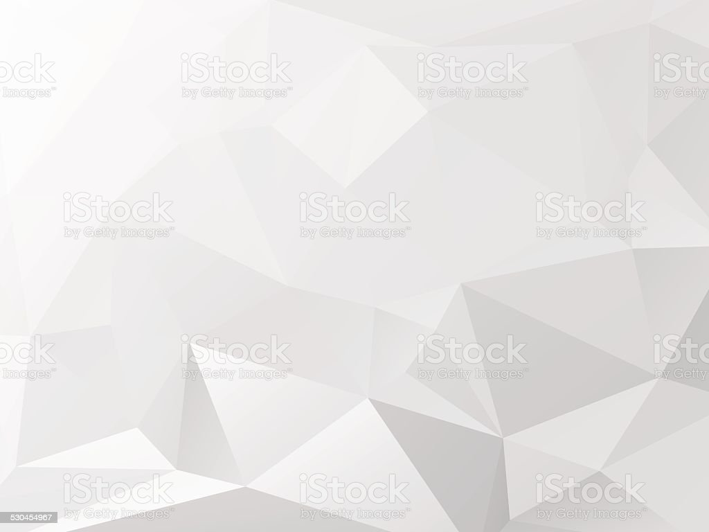 grey background with triagles - paper motif vector art illustration