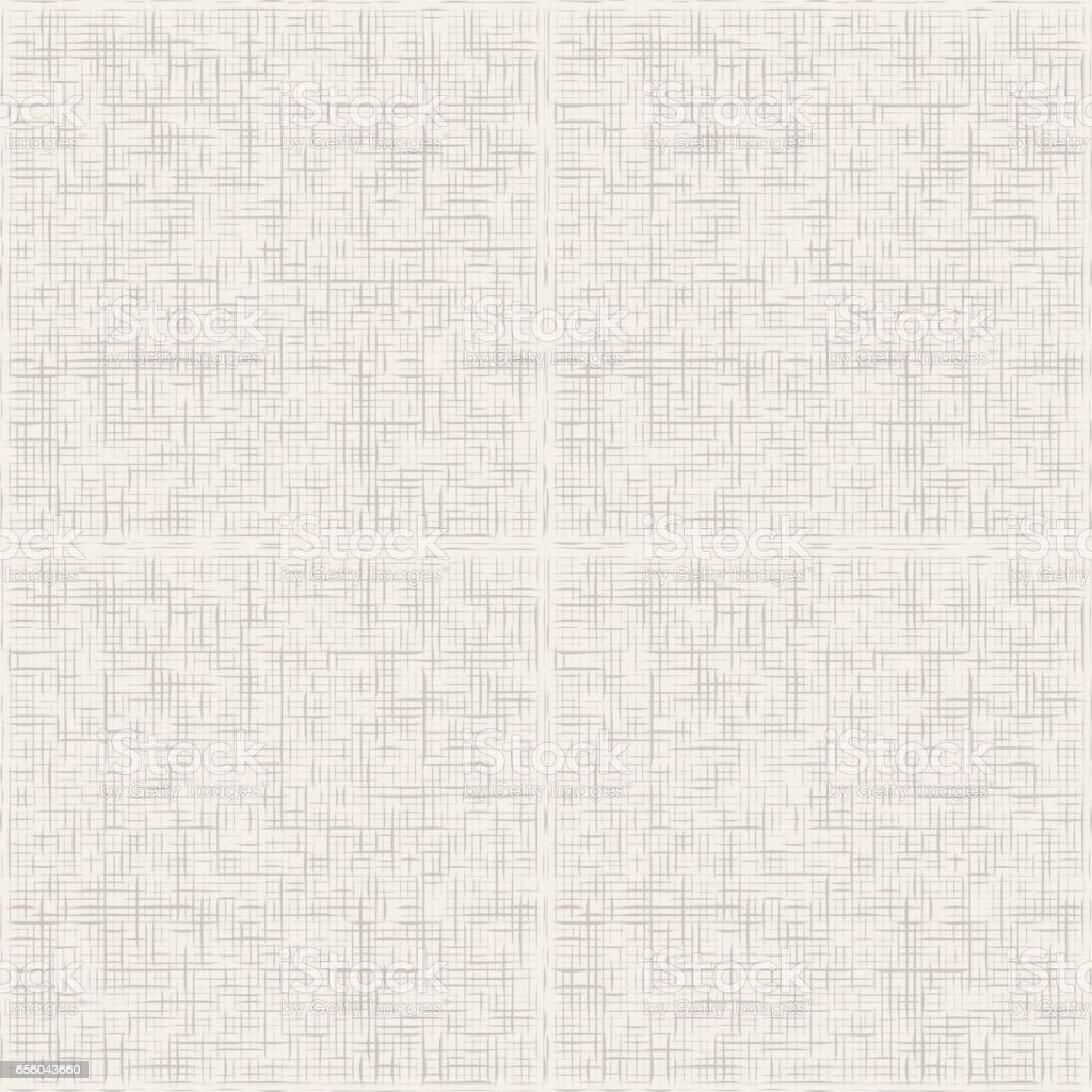 Grey canvas texture seamless pattern vector