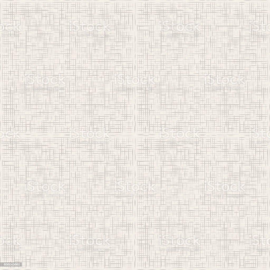 Grey canvas texture seamless pattern vector vector art illustration