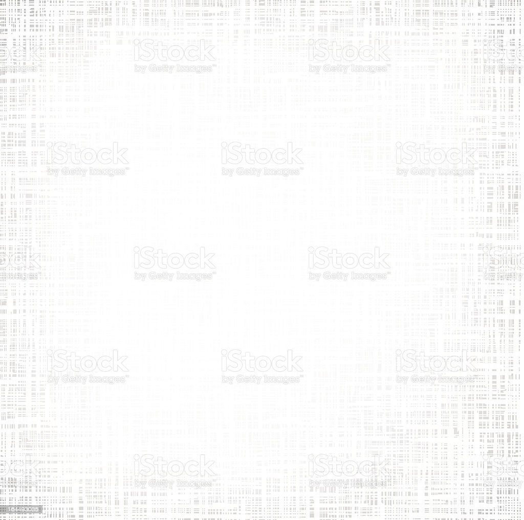 Grey canvas texture with white gradation at center vector art illustration