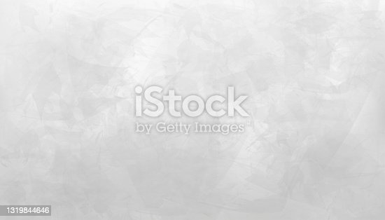 istock Grey Cement texture of floor, Vector 3D  Backdrop of Gray Concrete wall room surface with cracked texture pattern. Banner background for loft design concepts 1319844646
