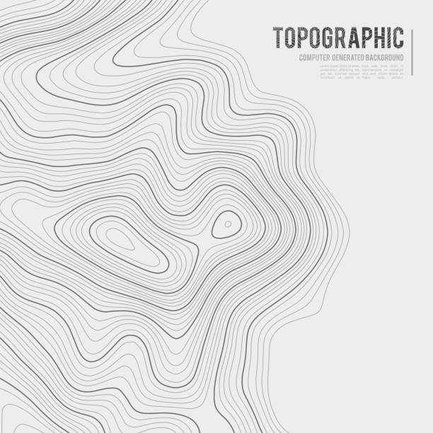 Grey contours vector topography. Geographic mountain topography vector illustration. Topographic pattern texture. Map on land vector terrain. Elevation graphic contour height lines. Topographic map height abstract polygonal land. Mountain topographic cont Grey contours vector topography. Geographic mountain topography vector illustration. Topographic pattern texture. Map on land vector terrain. Elevation graphic contour height lines. Topographic map height abstract polygonal land. Mountain topographic contour in lines and contours. contour line stock illustrations