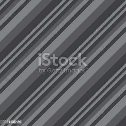 istock Grey Diagonal Stripes seamless pattern background 1244436466