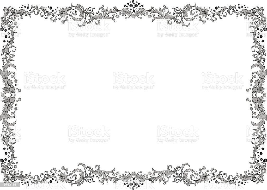 Grey frame. royalty-free grey frame stock vector art & more images of art title