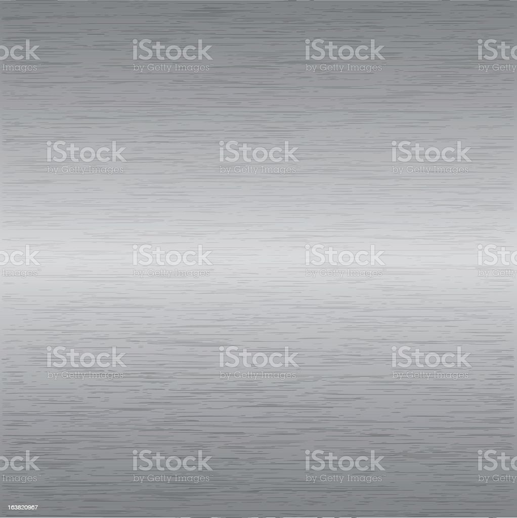 Grey gradient metal background vector art illustration