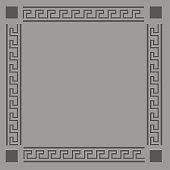 Grey Greek Frame