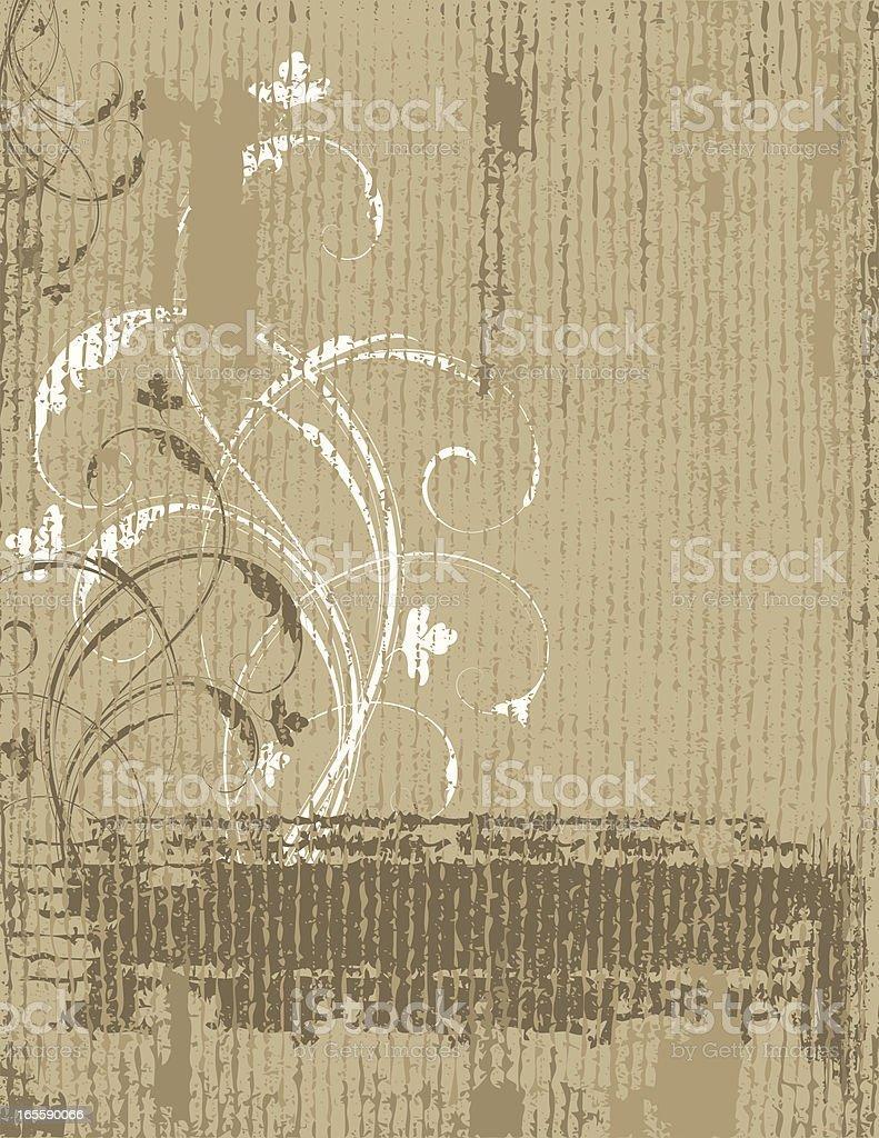 Grey Grunge Banner royalty-free stock vector art