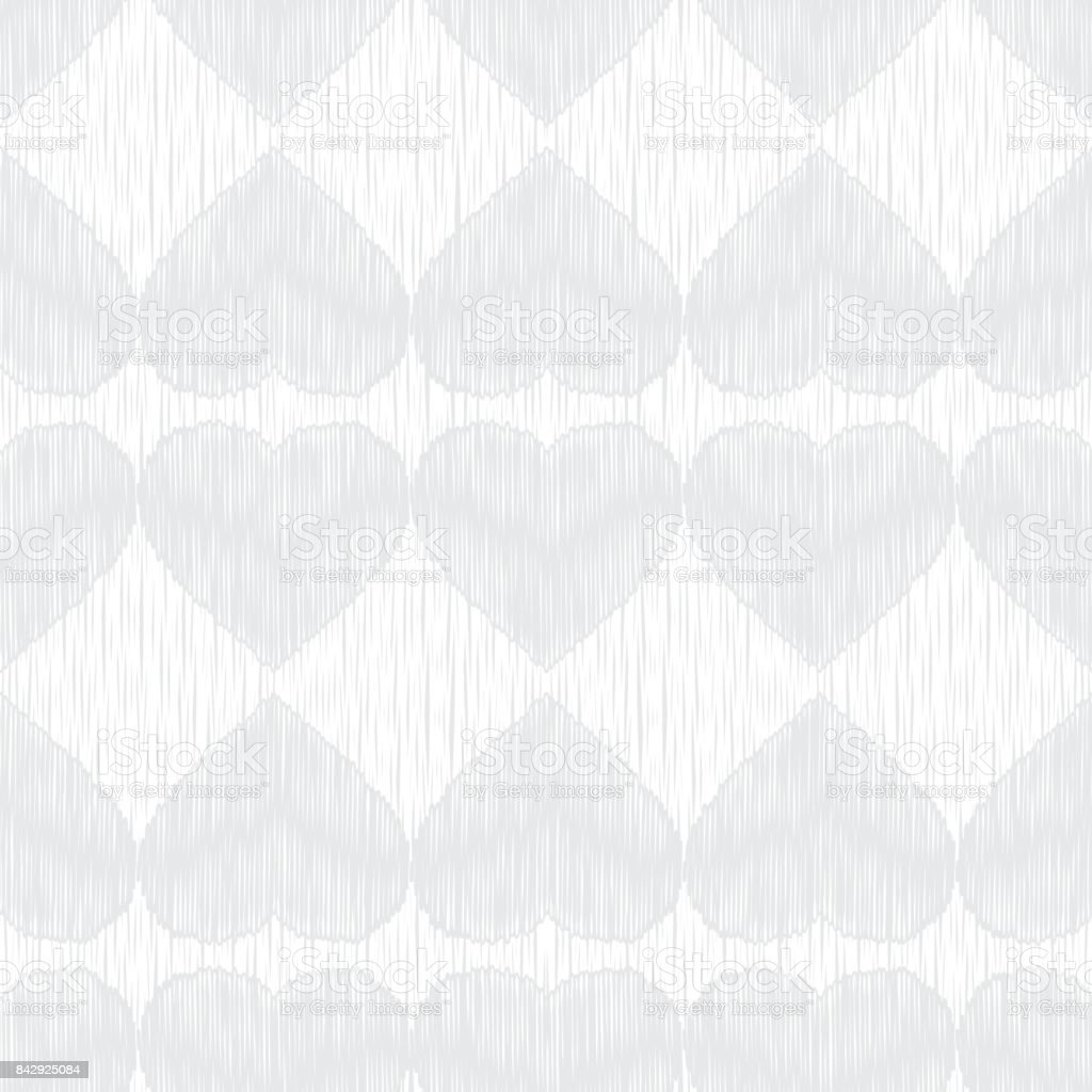 grey hearts on a white background white texture scribble texture
