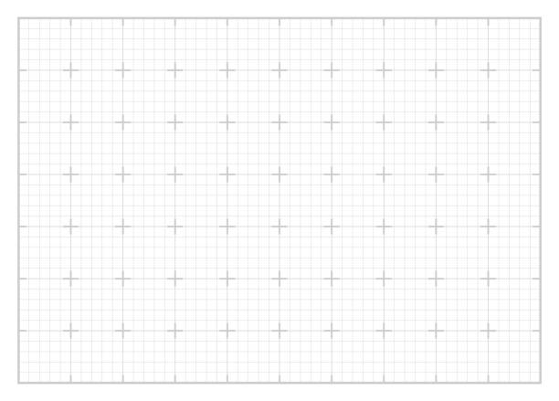 Grey square grid with white background vector art illustration