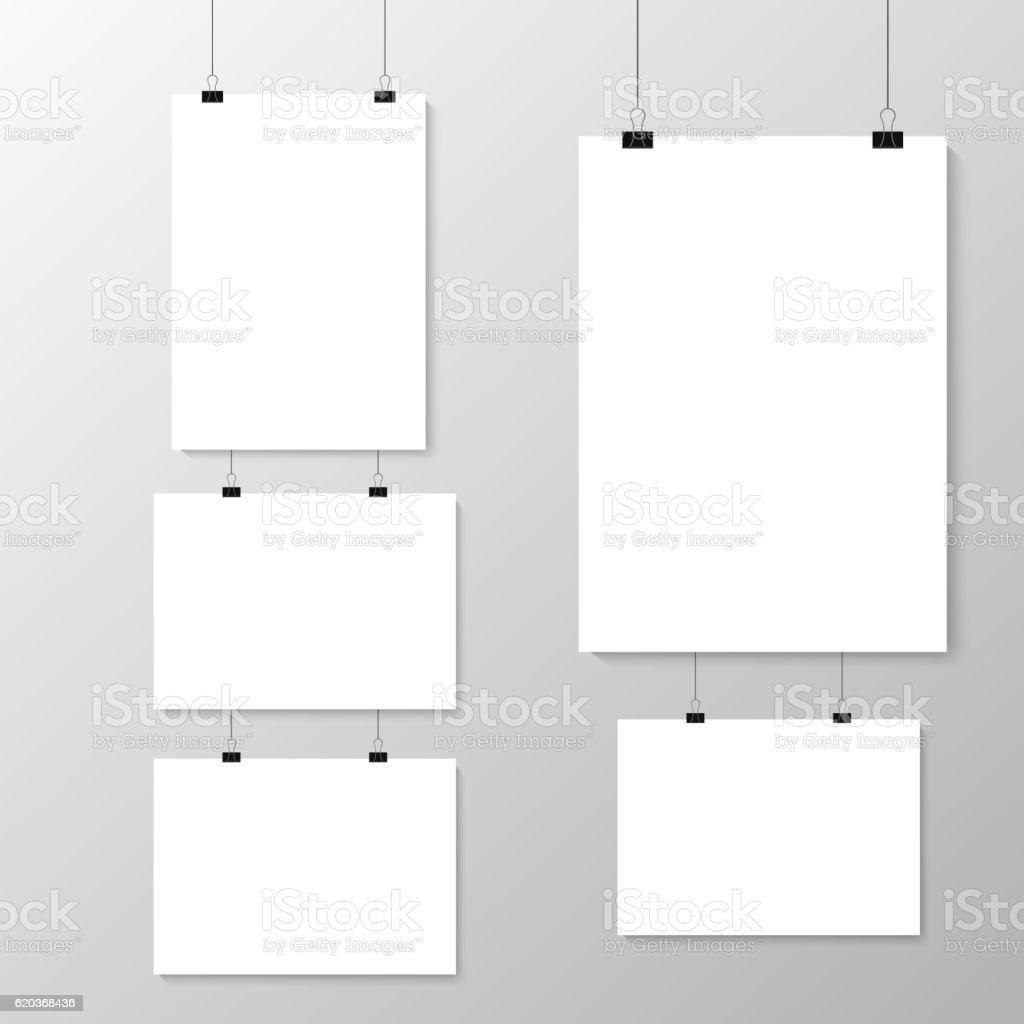 Grey wall with mock up grey wall with mock up - stockowe grafiki wektorowe i więcej obrazów baner royalty-free