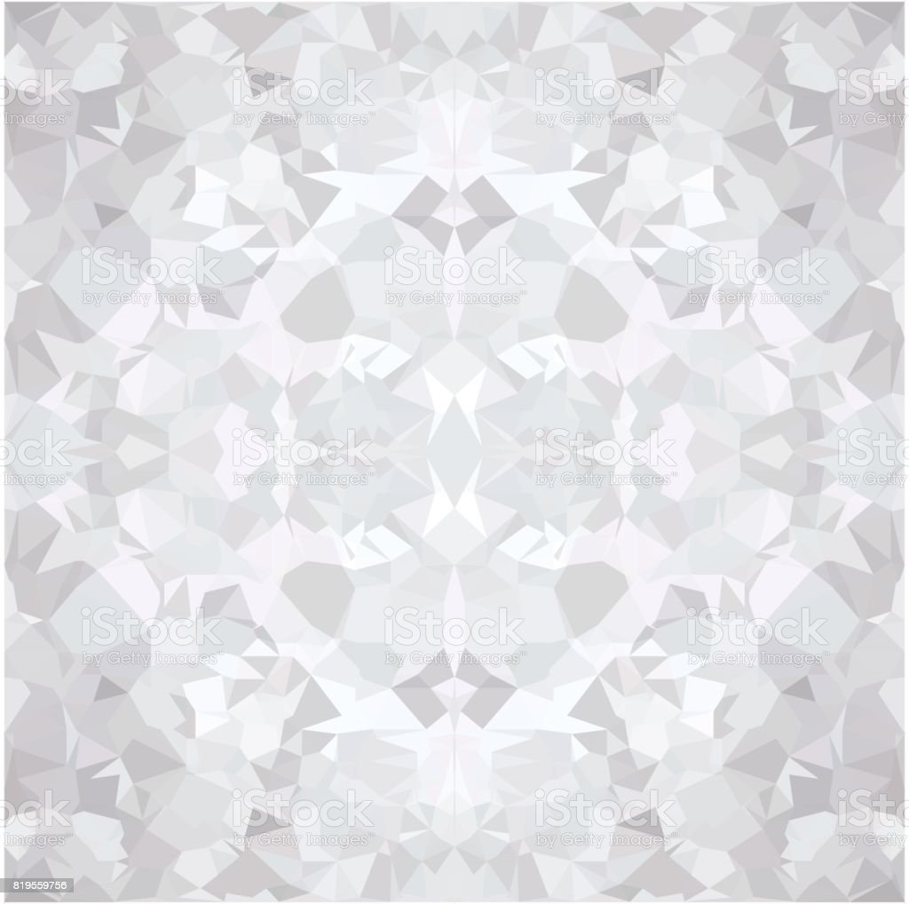 Grey Wallpaper Polygon Stock Vector Art More Images Of Abstract