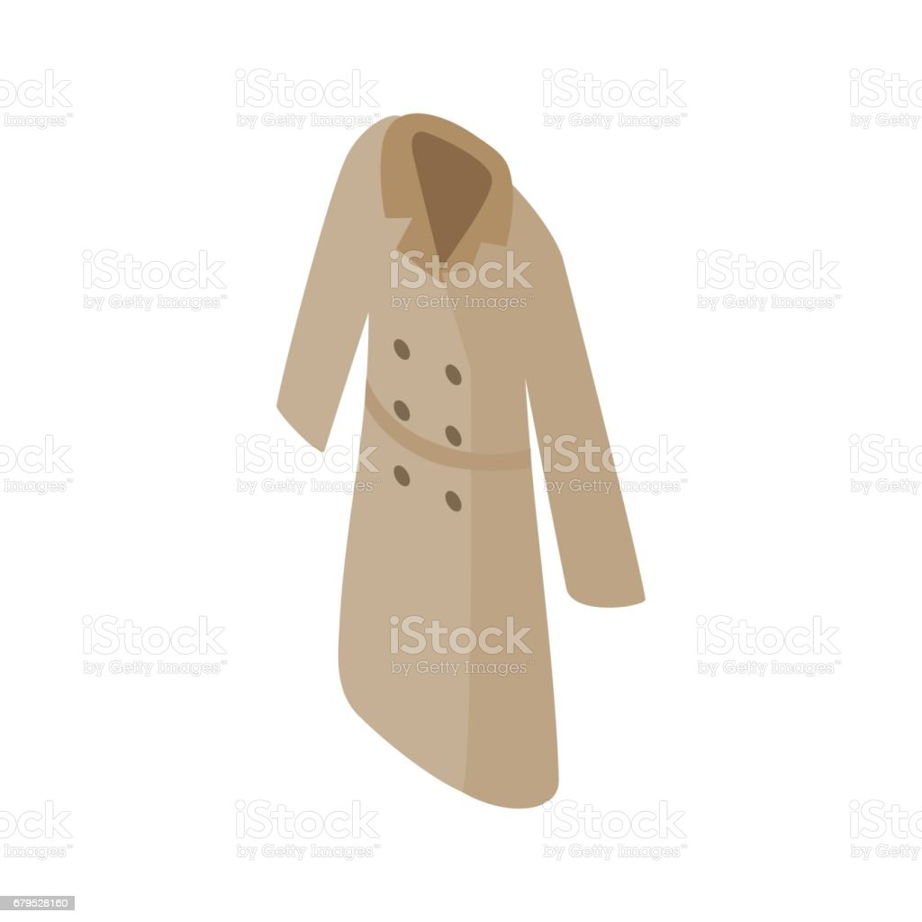 Grey women coat icon, isometric 3d style royalty-free grey women coat icon isometric 3d style stock vector art & more images of adult