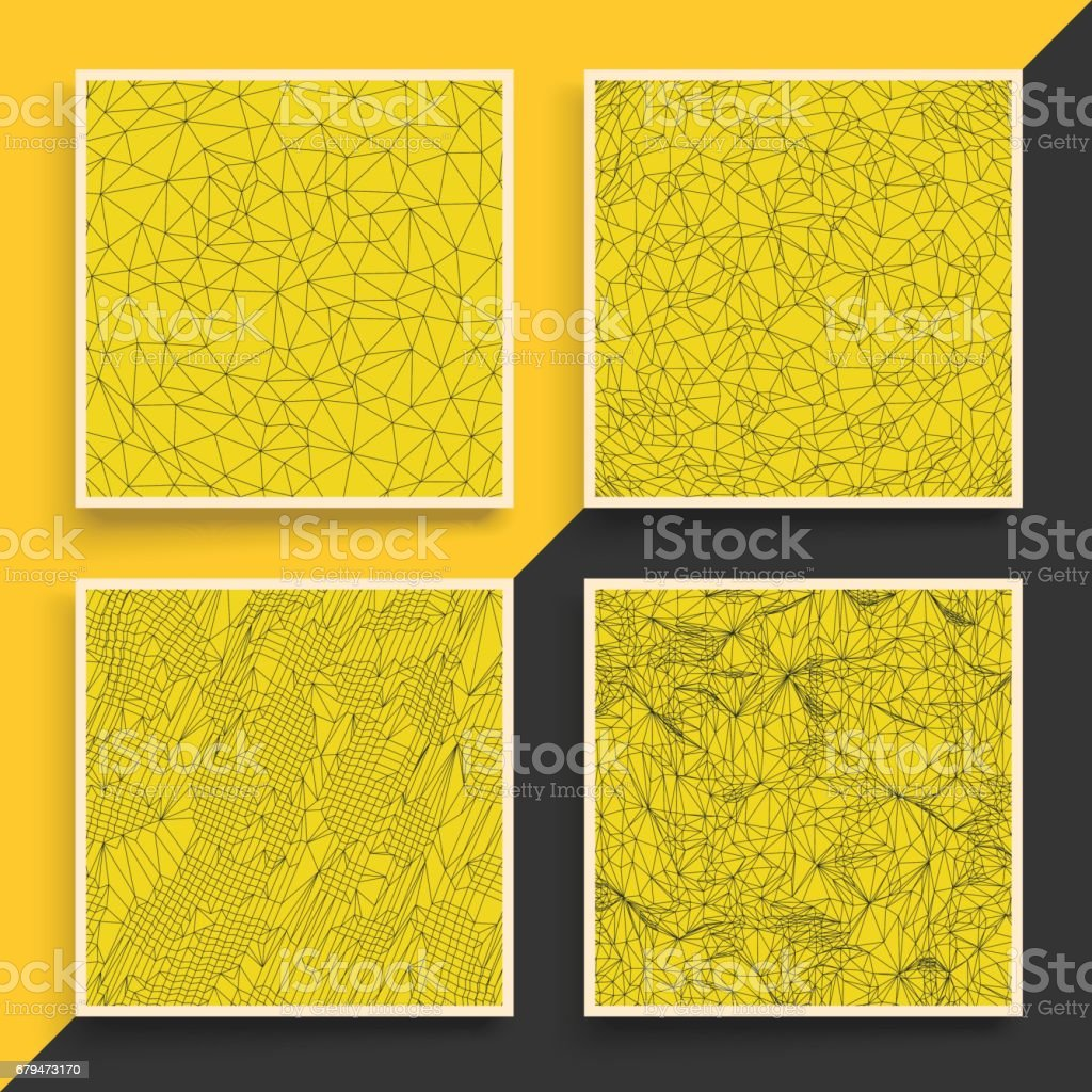 Grid Background. 3d Vector Illustration. Technology Style. 免版稅 grid background 3d vector illustration technology style 向量插圖及更多 connect the dots - 英文諺語 圖片