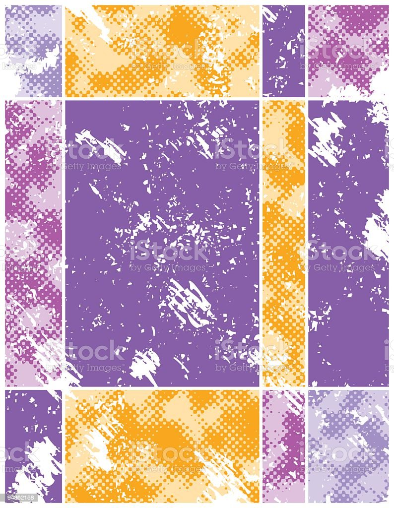 Grid Background royalty-free stock vector art