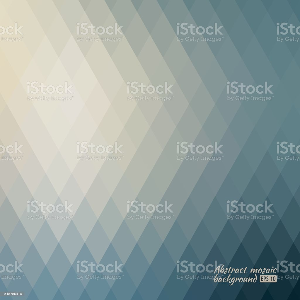 Grid Mosaic Background, Creative Design Templates vector art illustration