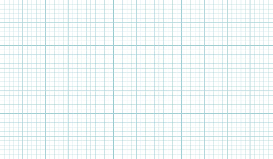 Grid paper sheet texture vector illustration on white background