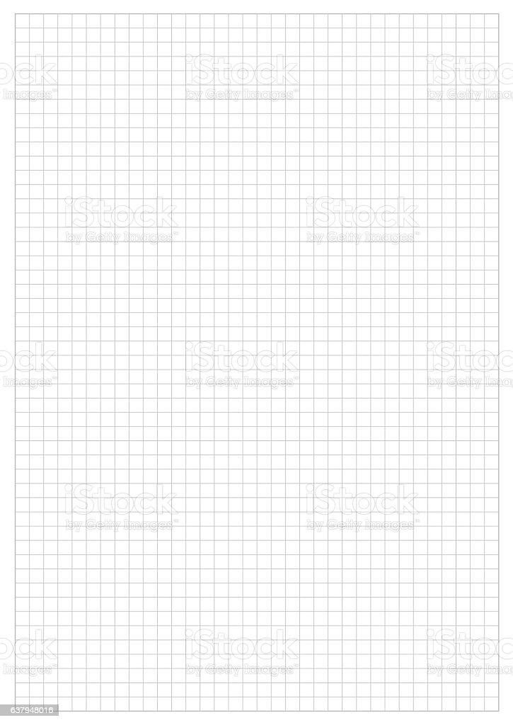 Grid Paper Sheet.