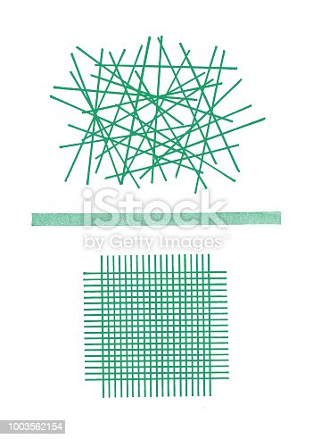 Grid Pick up Sticks