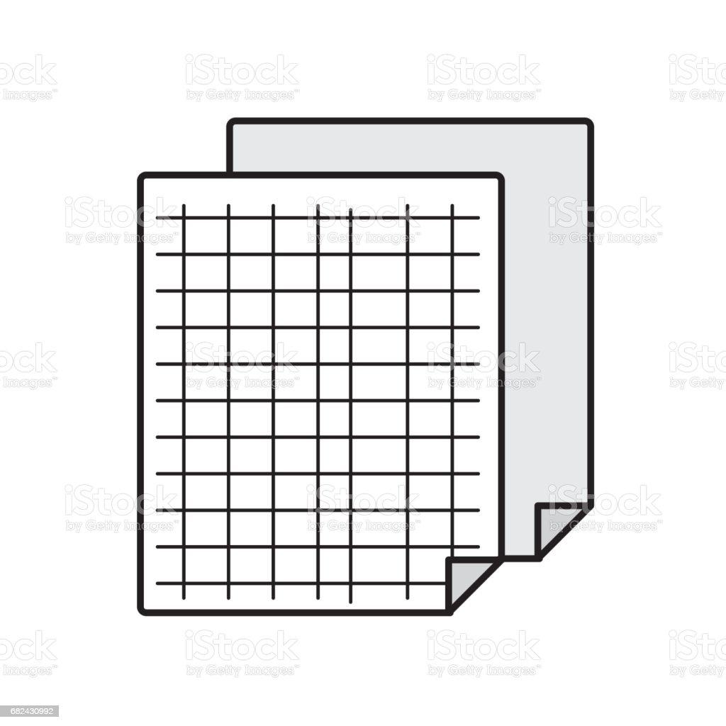 feuille de grille pour étudier et écrire des activités feuille de grille pour étudier et écrire des activités – cliparts vectoriels et plus d'images de agenda libre de droits