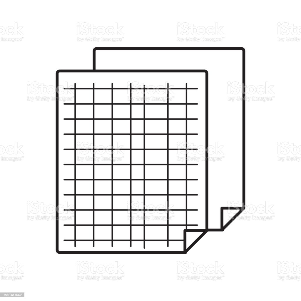 grid sheet to study and write activities royalty-free grid sheet to study and write activities stock vector art & more images of adhesive tape